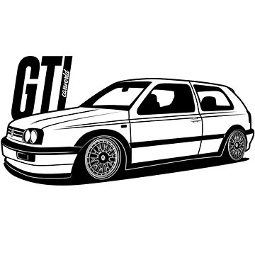 Golf Mk3 GTI Best Shirt Design by CarWorld