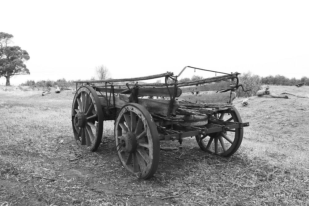 """Moculta Wagon, Barossa Valley, SA"" by Gail Mew"