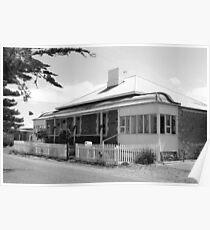 """Cockenzie House, Goolwa, SA"" Poster"