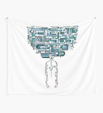 fragment Wall Tapestry