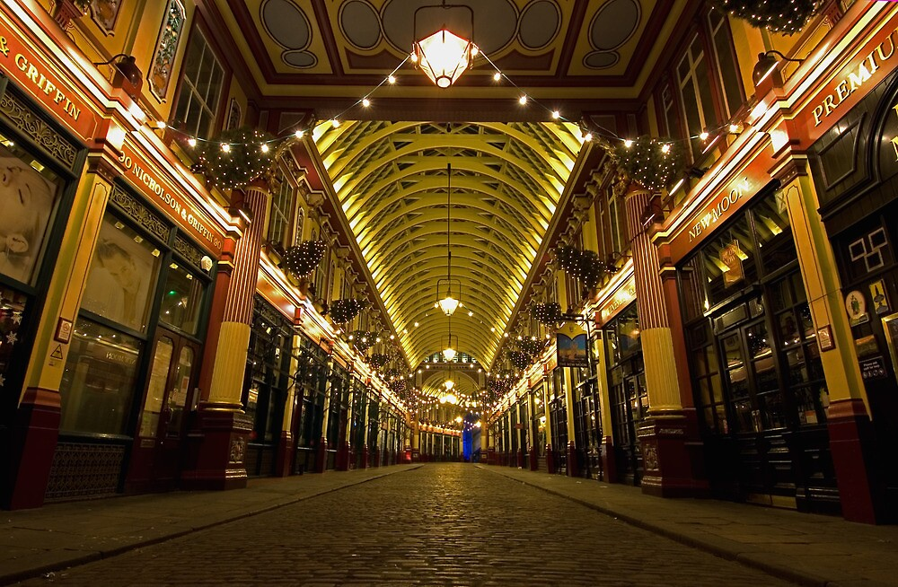 London Light - Leadenhall Market by WILLIAM KENT