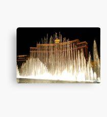 Bellagio Fountains - Las Vegas Canvas Print