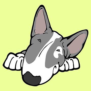 I'm Cute Bull Terrier by Sookiesooker