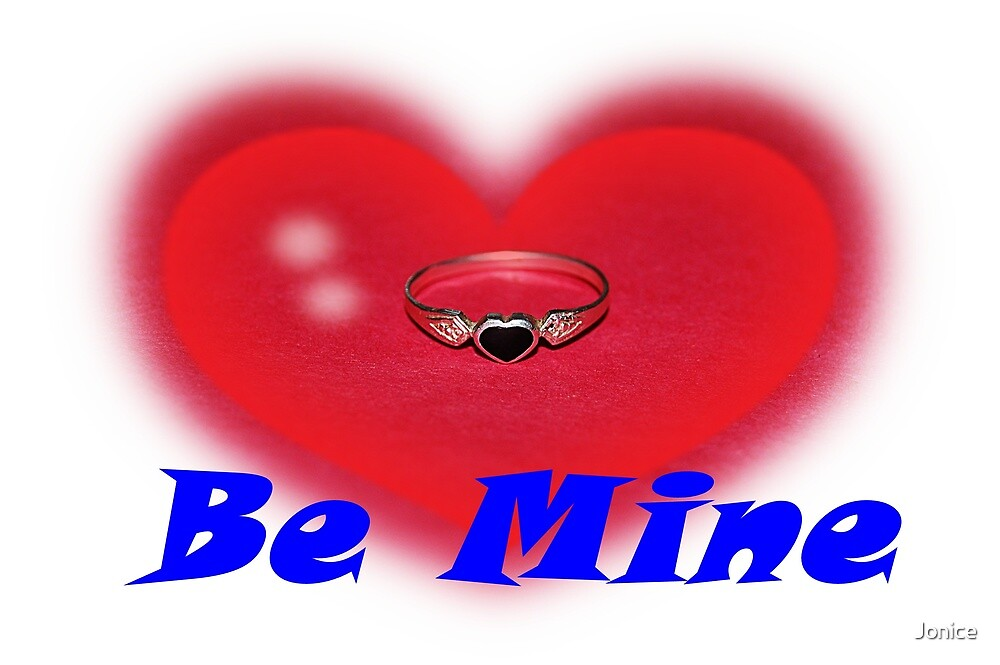 Be Mine Heart Ring Valentine by Jonice