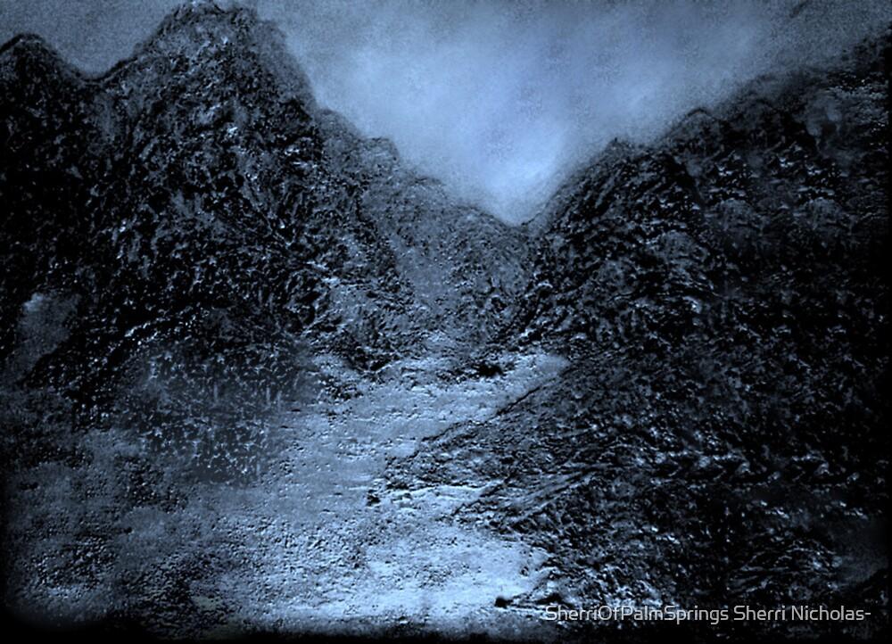 PALM SPRINGS MOUNTAINS IN THE EVENING by SherriOfPalmSprings Sherri Nicholas-
