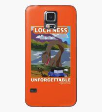 Visit Loch Ness - Orange Case/Skin for Samsung Galaxy