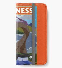 Visit Loch Ness - Orange iPhone Wallet/Case/Skin