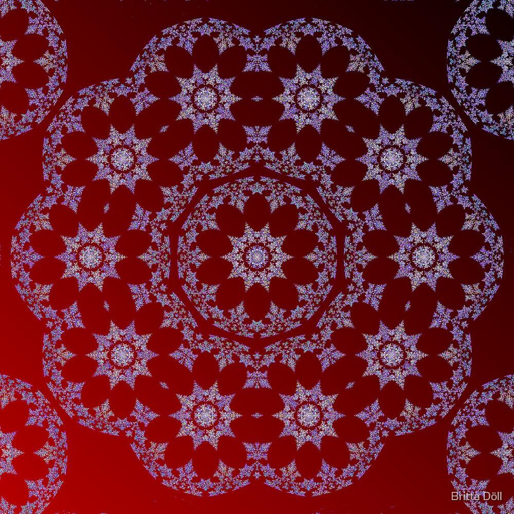 Stars in purple by Britta Döll
