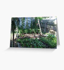 My Vegetable garden Greeting Card