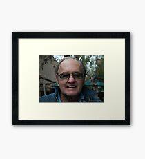 """ The relative "". Framed Print"