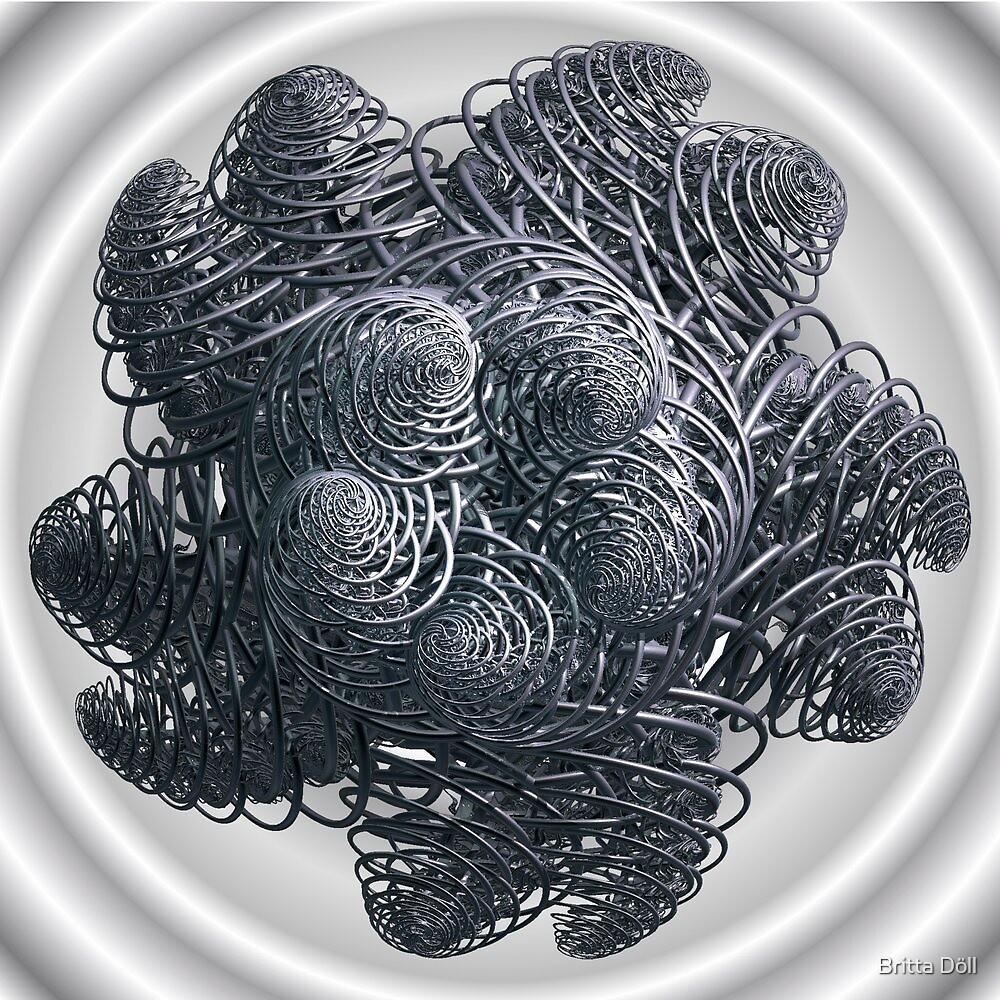 Silver Spiral by Britta Döll