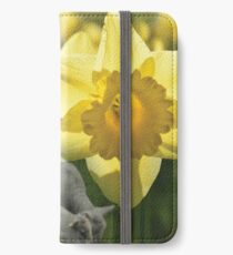 Spring! Lambs and Daffs iPhone Wallet/Case/Skin