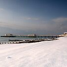 Snow beach by mikebov
