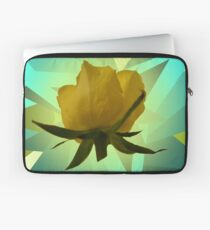 Glowing Rose Graphic Laptop Sleeve