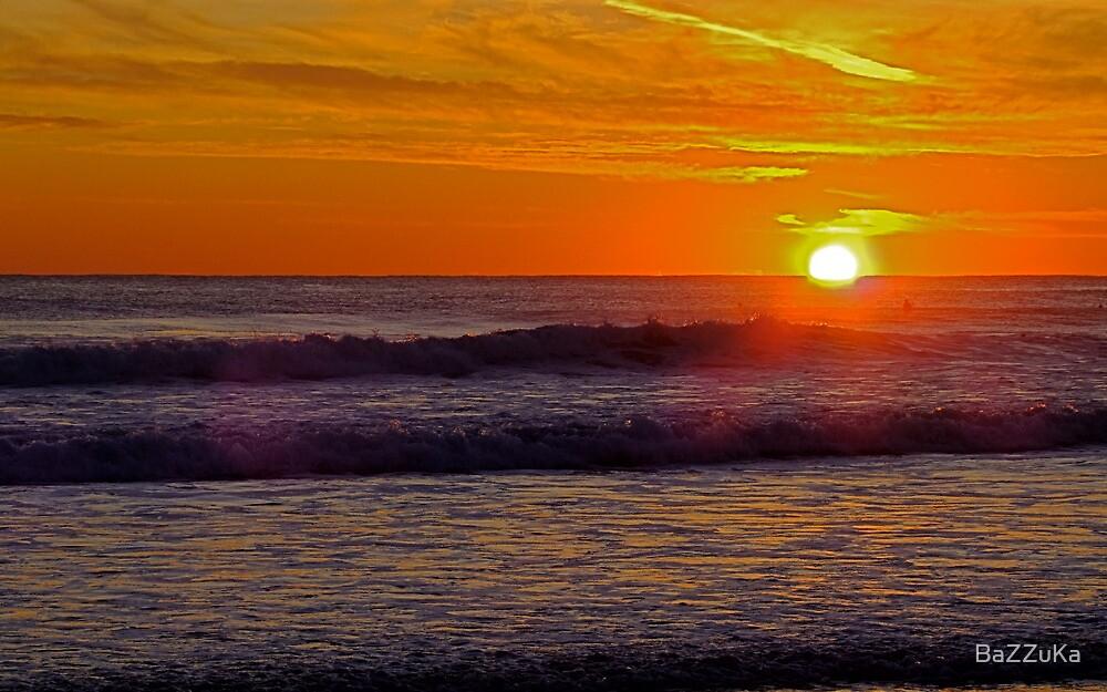 Sunset at Carcavelos 1 by BaZZuKa