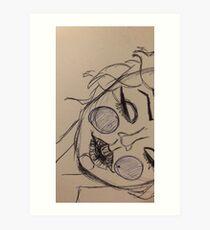 Marylin Manson Monroe Art Print