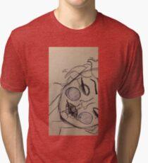 Marylin Manson Monroe Tri-blend T-Shirt