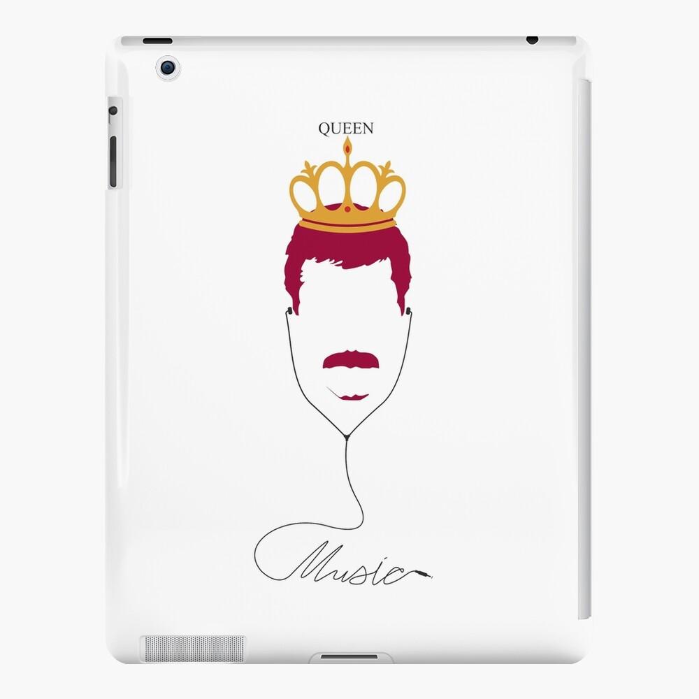 Königin Musik iPad-Hülle & Skin