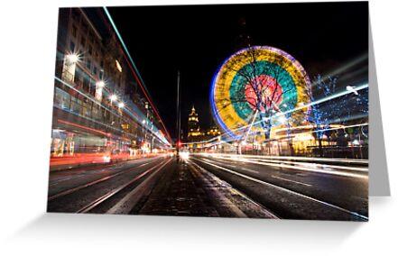 Moving Light, Edinburgh by Claire Tennant