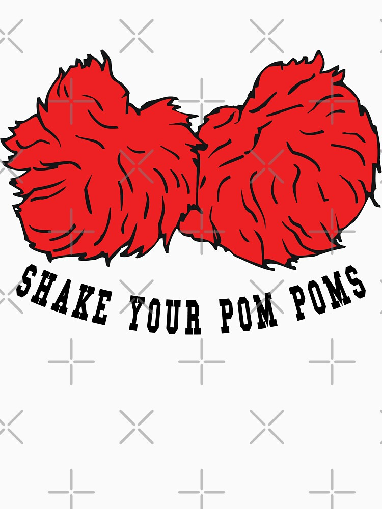 Cheer Shake Your Pom Poms by SportsT-Shirts