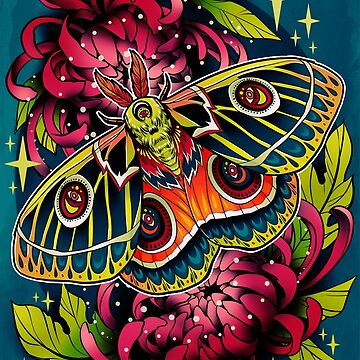 Bunaeopsis Moth by retkikosmos
