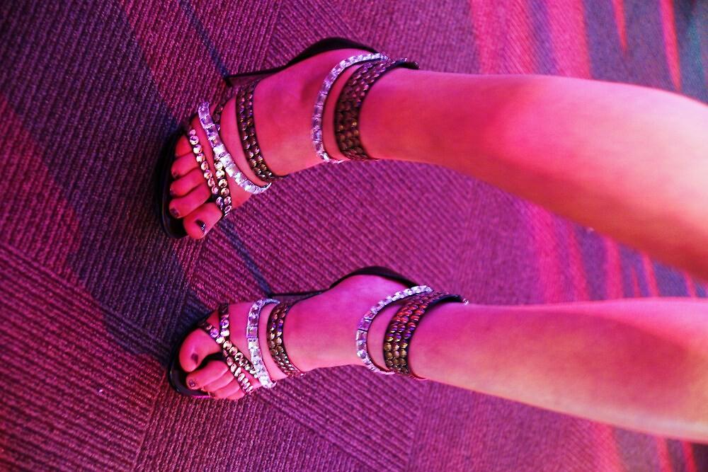 Ruby Shoes by Adam Jones