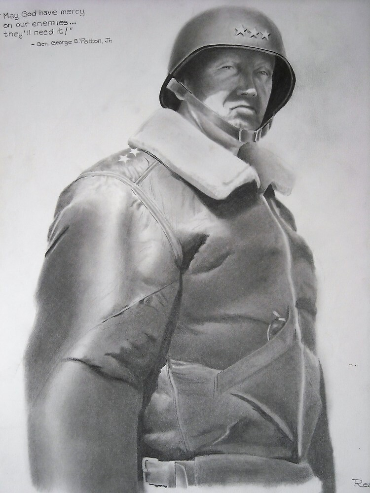 Gen. George S. Patton by John Reardon