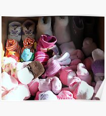Baby sock drawer.... Poster