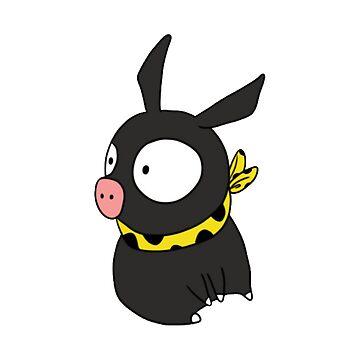 Ranma 1/2, Pchan, P-chan, P chan, Ryoga Hibiki, Ranma ½, Akane Tendo, Merchandising, Merch, Merchandise by designteam