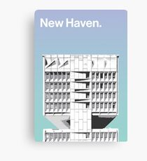 New Haven architecture - Armstrong Rubber Company Canvas Print