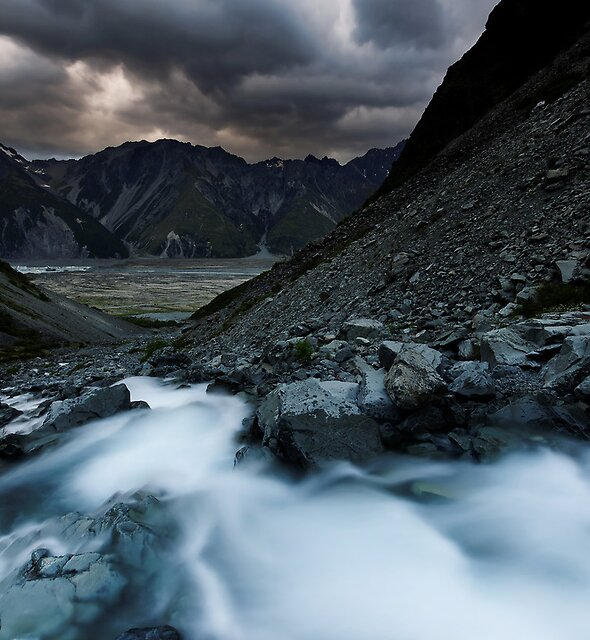 Cool Mountain Flow by Robert Mullner