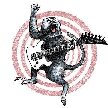 Heavy Metal Monkey by CatLauncher