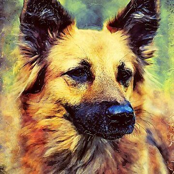 German Shepherd #Shepherd #dog #animals by JBJart