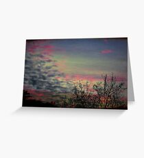Coldness Greeting Card