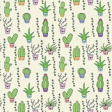 Cute Cactus by claudiaramos
