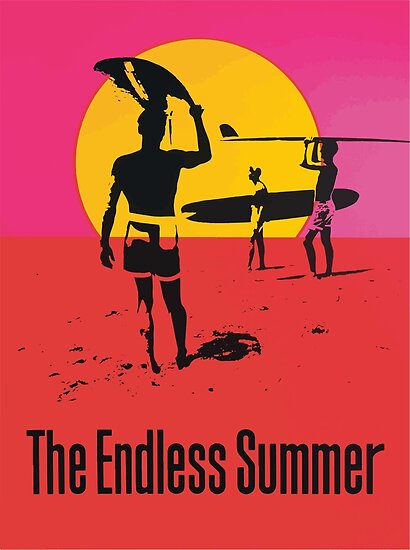 Endless Summer, 1966 Surf Sport Documentary Poster, Artwork, Prints, Posters, Tshirts, Men, Women, Kids by Art-O-Rama