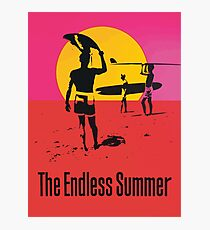 Endless Summer, 1966 Surf Sport Documentary Poster, Artwork, Prints, Posters, Tshirts, Men, Women, Kids Photographic Print