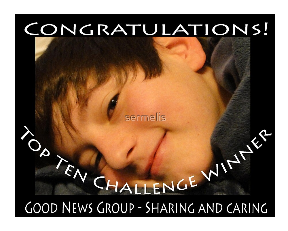 Sharing and Caring Winner Banner by sermelis