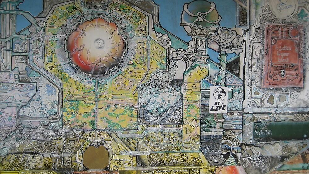 Graffiti Aussie Style - Perth, Australia by Ginelle Cooke