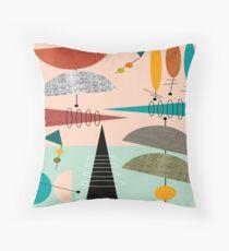 Mid-Century Modern Abstract #39 Throw Pillow