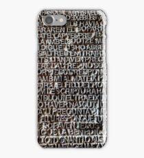La Sagrada Familia Door iPhone Case/Skin