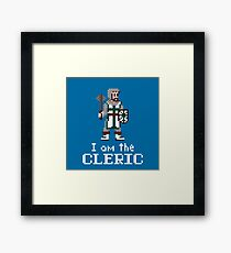 I am the (gentlem'n) Cleric Framed Print