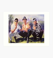 Vatos locos Blood in Blood out Art Print