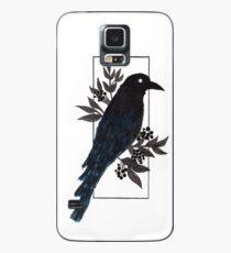 Krähe Hülle & Klebefolie für Samsung Galaxy