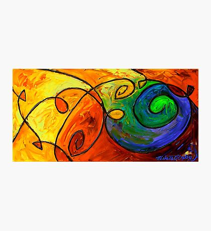 Swirl in the Candy Sea Photographic Print