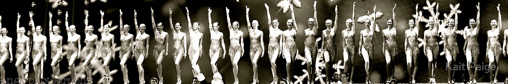 The Rockettes by Kait Paige