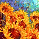 The Sunflower Rising by Abstract D'Oyley