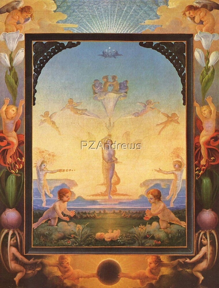 The Morning by Philipp Otto Runge by PZAndrews