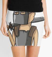 Rust Knight Mini Skirt