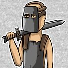 Rust Knight by cemolamli